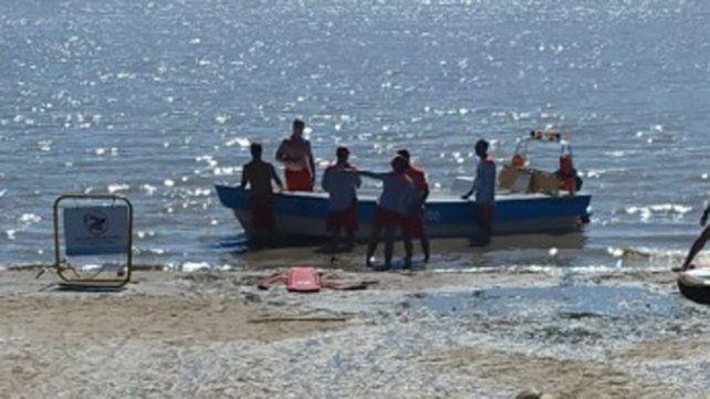 Por un choque de dos embarcaciones hubo una persona herida