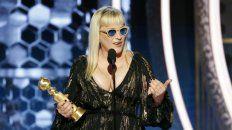 La actriz Patricia Arquette dio un discurso para concientizar sobre el cambio climático.