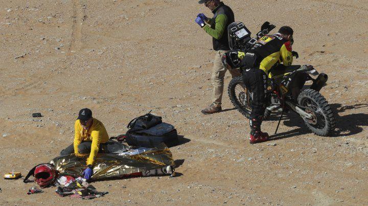 Tragedia en el Rally Dakar: murió un motociclista en la séptima etapa