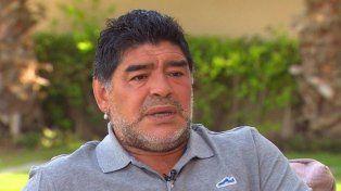 La foto de Maradona que causa estupor mundial