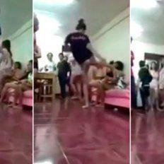 Brutal agresión: se acostó con su marido sin saber que ella practicaba muay thai