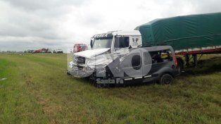 Santa Fe: Choque frontal con cinco muertos en la ruta nacional 34