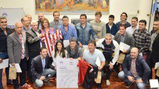 #ClásicoSantafesino: firmaron el compromiso simbólico Que la PAZión se convierta en clásico