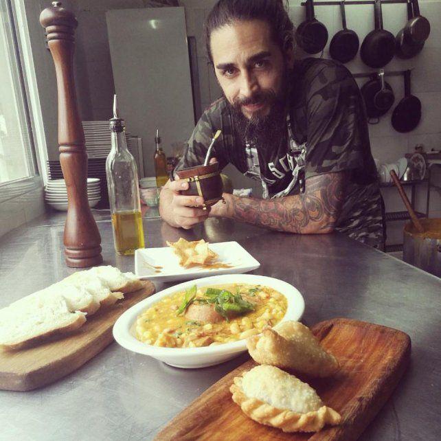 Criollo y casero. Esta es la cocina que le gusta e inspira a Lucas Escobar.