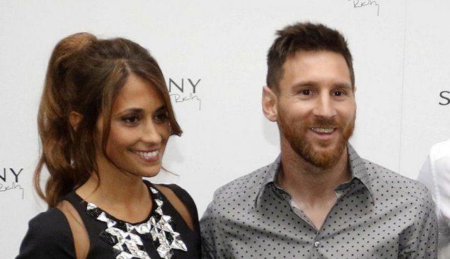 Messi pidió donaciones como regalo de bodas