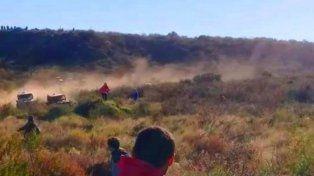 Una fotógrafa fue atropellada en una carrera en La Pampa