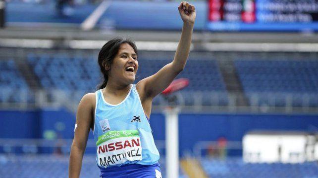 Yanina Martínez, subcampeona del mundo en Londres