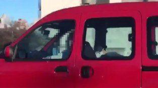VIDEO: sexo oral en plena autopista