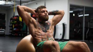 Con esta intensidad se entrena McGregor para pelear contra Mayweather