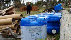 en un pueblo de santa fe dejan residuos agroquimicos al alcance de ninos