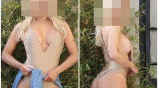 Tremenda producción hot y confesiones sexuales de una botinera: Me gusta tomar la iniciativa copy