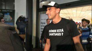 El Patón llegó a Ezeiza para sumarse a las prácticas de la selección Argentina.