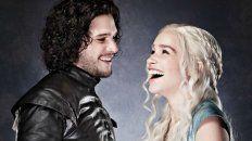 daenerys targaryen y jon snow enamoran a sus fans en una campana publicitaria