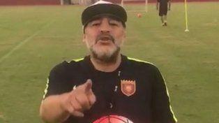El polémico pedido de Maradona a Macri por la aparición de Santiago Maldonado