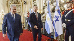 Netanyahu y Macri ratificaron su lucha contra el terrorismo y profundizarán acuerdos comerciales