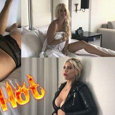 El explosivo backstage de una producción súper hot de Wanda ¡semidesnuda ¡y sin Photoshop!
