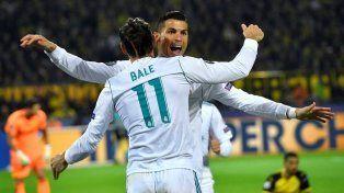 Triunfazo de Real Madrid en tierras alemanas ante Borussia Dortmund