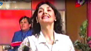 Archivo. Gilda en su paso por el programa.
