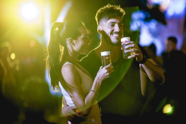 Cerveza Santa Fe volvió a sorprender a la ciudad en una nueva escala de su #BEERTOUR