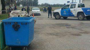 El cuerpo fue hallado en un contenedor