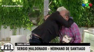 El desgarrador llanto del hermano de Santiago Maldonado