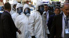Todas las precauciones se tomaron para no contaminar el cuerpo.