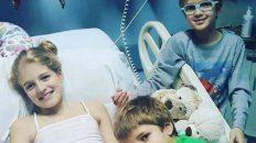 Justina Lo Cane, nena que se encuentra primera en la lista del INCUCAI a la espera de un trasplante.