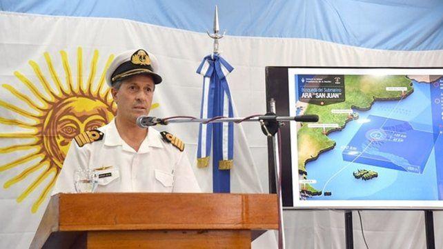 La Armada informó que investigarán un nuevo contacto a 700 metros de profundidad