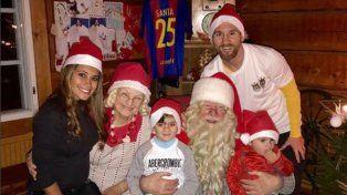 Messi pasó la Navidad en Rosario con su amigo Luis Suárez como invitado