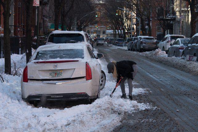 La tormenta de nieve en EE.UU. ya afecta a unos 100 millones de personas