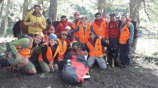 El andinista perdido en Bariloche fue rescatado gracias a un perro de venteo