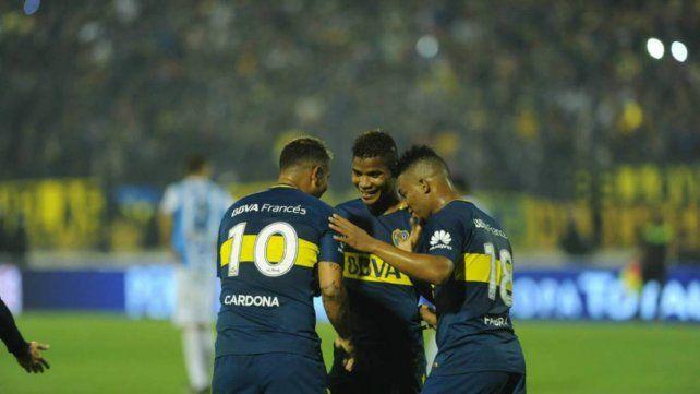 Boca desafectó a Cardona, Barrios y Fabbra