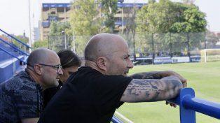 Sampaoli se reunió con dos jugadores del fútbol argentino