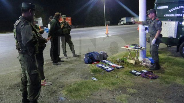 Secuestraron más de 16 kg de cocaína en un colectivo que partió desde Paraná