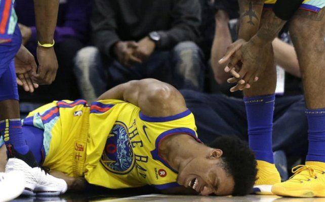 VIDEO: Desgarrador grito de un jugador de la NBA tras sufrir una dura caída
