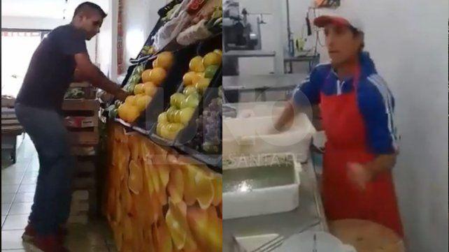 Dos santafesinos le ponen onda al trabajo y se volvieron virales