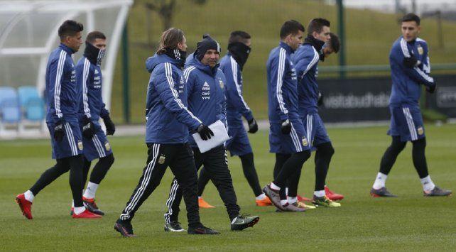Jorge Sampaoli se reunió con dos jugadores clave para la Selección