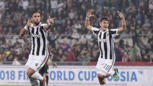 Juventus aplastó a Milan y se quedó con la Copa Italia