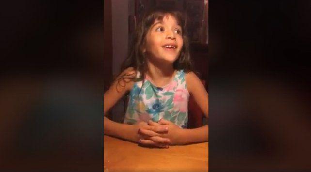 La nena que se volvió viral en las redes por defender el lenguaje inclusivo