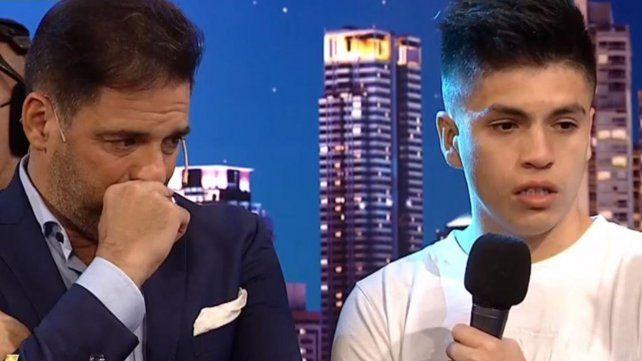 Mariano Iúdica presentó a su hijo adoptivo y no pudo contener la emoción