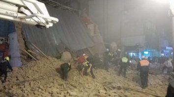 continua el operativo luego del tragico derrumbe en tucuman