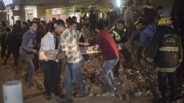 Continúa el operativo luego del trágico derrumbe en Tucumán
