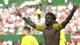 Brasil le dio un paseo a Austria en su último amistoso antes del Mundial
