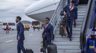 Perú llegó a Rusia con la ilusión a flor de piel