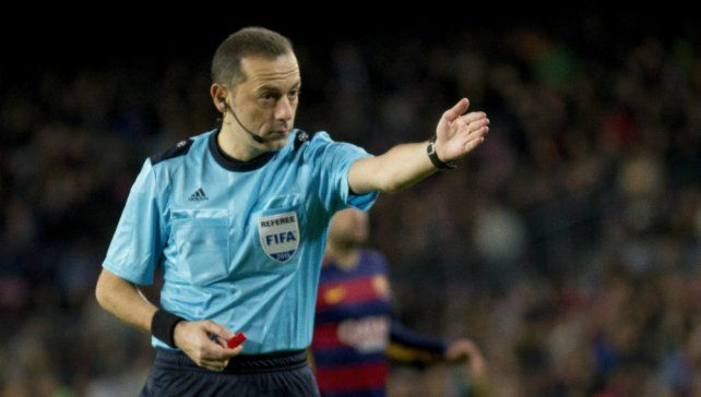 El árbitro del trascendental duelo entre Argentina y Nigeria
