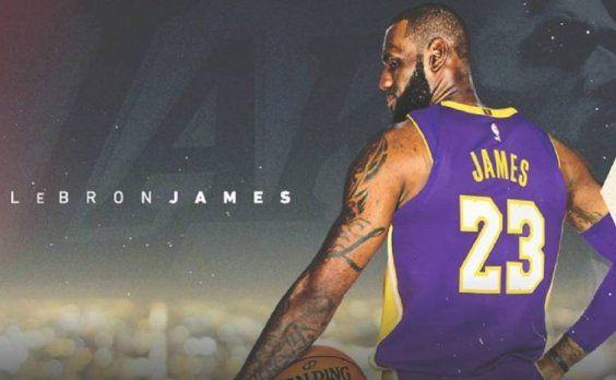 Los Lakers oficializaron la llegada de LeBron James