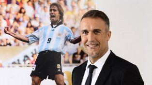 Batistuta fue tentado para dirigir a un equipo que juega la Libertadores