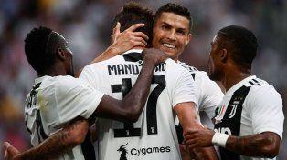 Juventus volvió a festejar pero los goles de Cristiano no aparecen