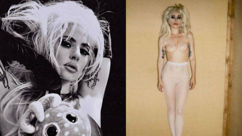 El desnudo completo de Lady Gaga