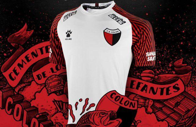 Mirá la nueva camiseta de Colón